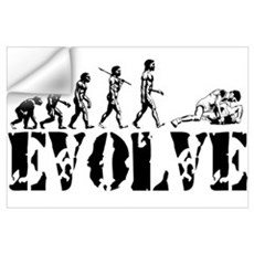 Wrestling Wrestler Wall Decal
