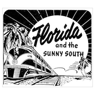 Vintage FLORIDA Poster