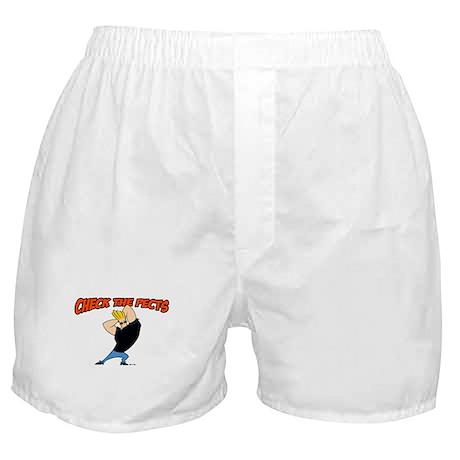 Check The Pecks Boxer Shorts