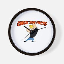 Check The Pecks Wall Clock