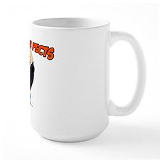 Check The Pecks Large Mug