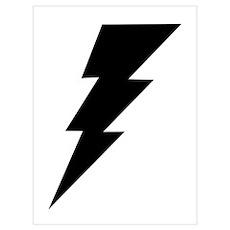 The Lightning Bolt 6 Shop Poster