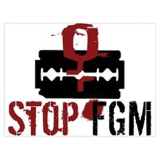 STOP FGM Poster