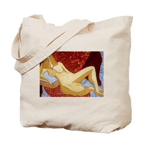Red Nude Tote Bag