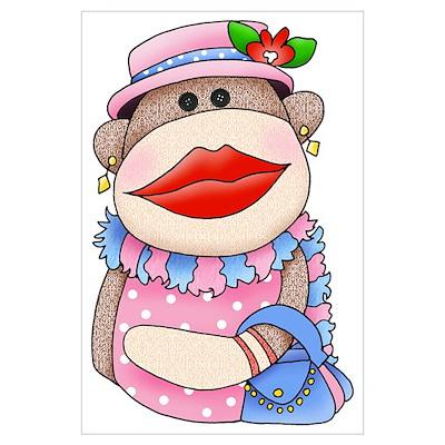 Sock Monkeys Poster
