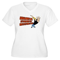 What Do You Think Of Me Women's Plus Size V-Neck T