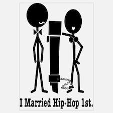She married Hip-Hop 1st