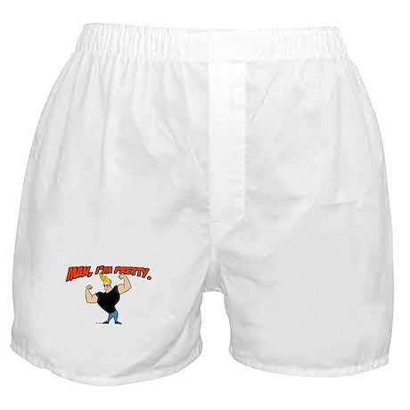 Johnny Bravo - Man, Im Pretty Boxer Shorts