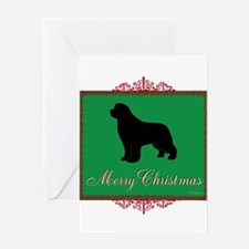 Merry Christmas Newfoundland Greeting Card