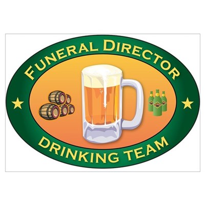 Funeral Director Team Poster