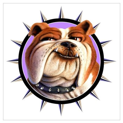 Bulldog 3 Canvas Art