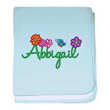 Abbigail Flowers baby blanket