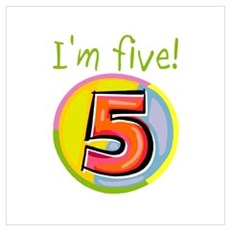 I'm Five Poster