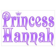 """""""Princess Hannah"""" Poster"""