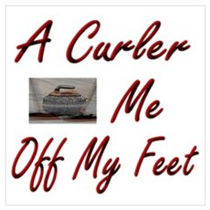 A Curler Swept Me Off My Feet Poster