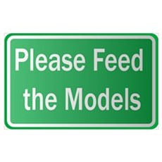 Feed the Models Poster