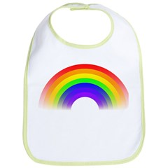Fading Rainbow Graphic Bib