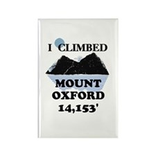 Mount Oxford Rectangle Magnet