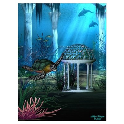 Sea Turtle Canvas Art