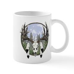 Whitetail deer skull 7 Mug