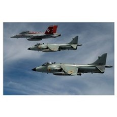 Hornet and Harriers Poster