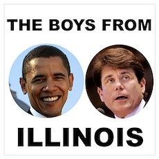Blagojevich / Obama Poster