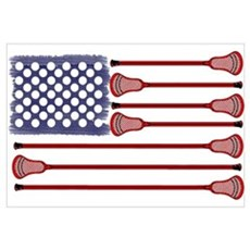 Lacrosse AmericasGame Canvas Art