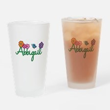 Abbigail Flowers Drinking Glass