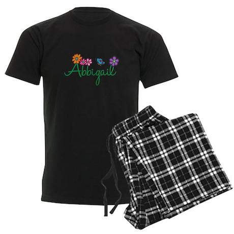 Abbigail Flowers Men's Dark Pajamas