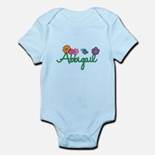 Abbigail Flowers Infant Bodysuit