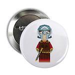 """Cute Roman Gladiator 2.25"""" Button"""