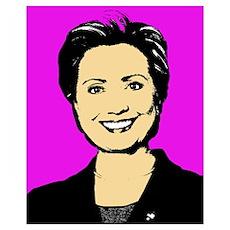Hillary Pastel Poster