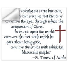 St. Teresa of Avila Quote Wall Decal