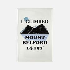 Mount Belford Rectangle Magnet