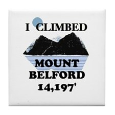 Mount Belford Tile Coaster