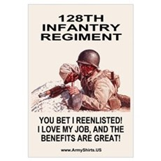 You Bet I Reenlisted Framed Print