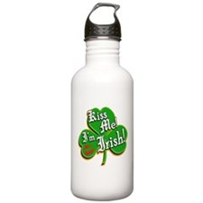 Kiss Me I'm Irish Water Bottle