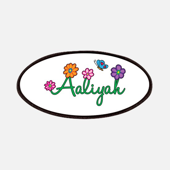 Aaliyah Flowers Patches