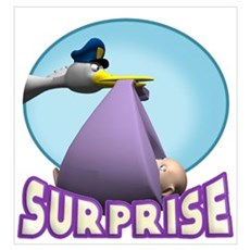 It's A Surprise Poster