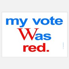 Bush Republican vote election