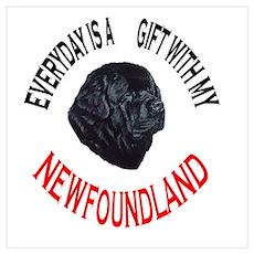 Newfoundland Gift Poster