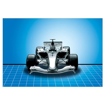 Ultimate Speed Machine - F1 Canvas Art