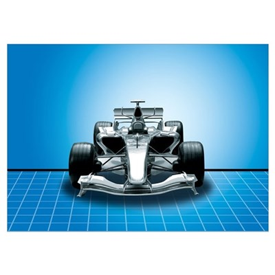 Ultimate Speed Machine - F1 Poster