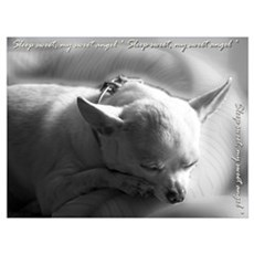 Sleep sweet, sweet angel Poster