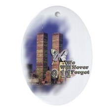 September 11, we will never forget - Ornament (Ova