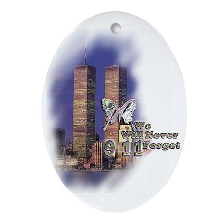 September 11, we will never forget - Ornament (Ova