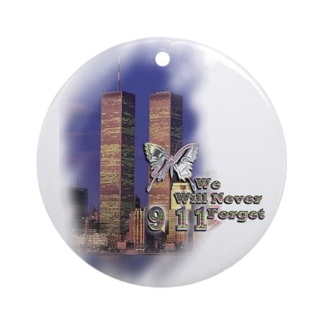 September 11, we will never forget - Ornament (Rou