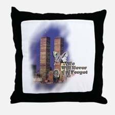 September 11, we will never forget - Throw Pillow