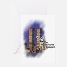 September 11, we will never forget - Greeting Card