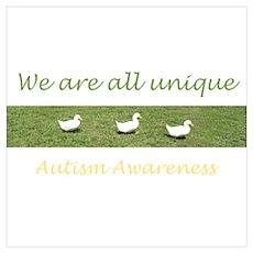 Unique Ducks Poster